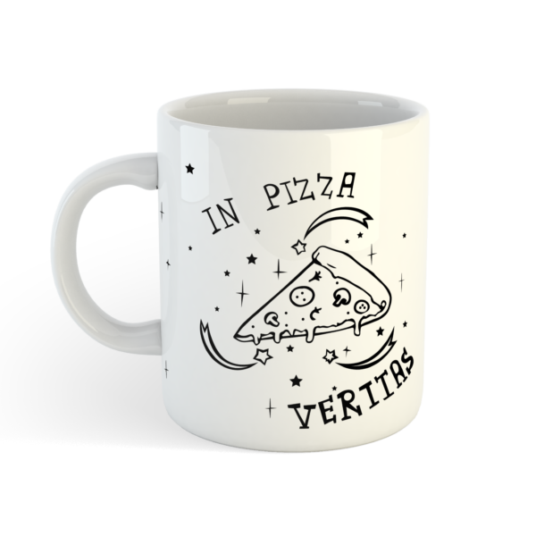 Кружка «In pizza veritas» от Морда Довольна