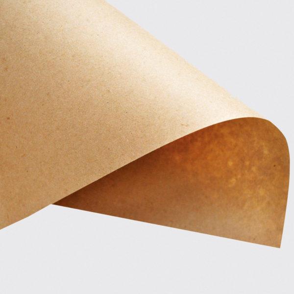 Крафтовая бумага для упаковки в магазине подарков Морда Довольна