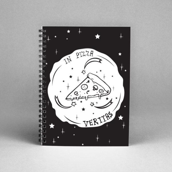 Блокнот «In pizza veritas» скетчбуки интернет-магазин