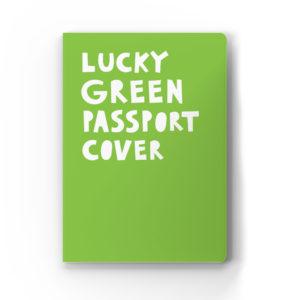 Обложка для паспорта «Lucky green passport cover»