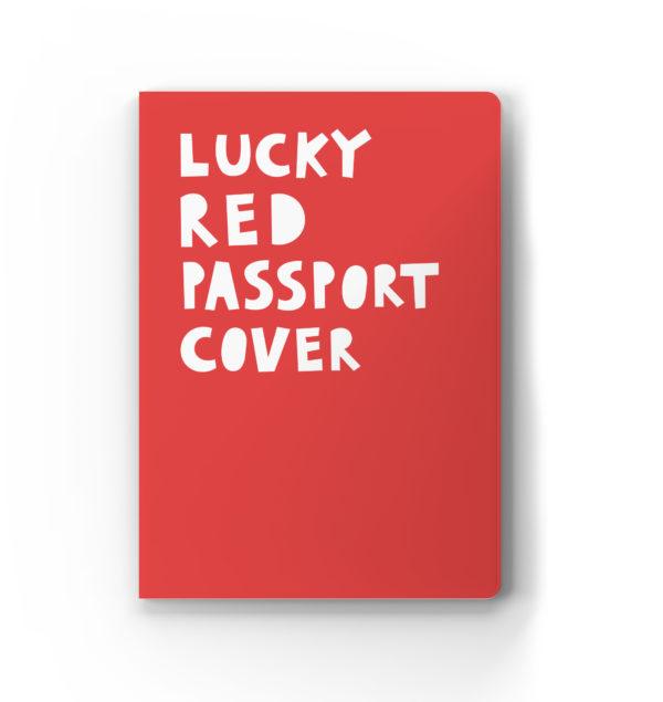 Обложка для паспорта «Lucky red passport cover»