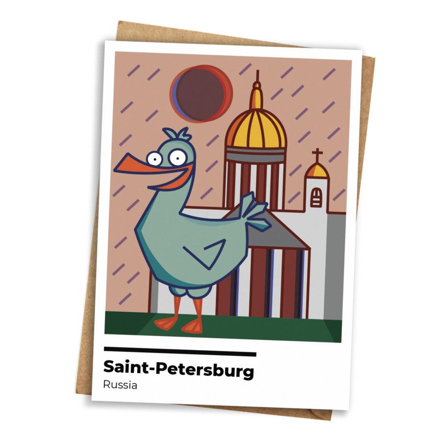 Крутые открытки спб