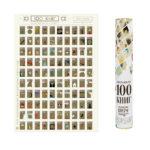 скретч-карта 100 книг