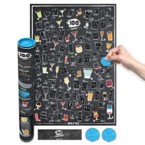 скретч-карта 100 коктейлей
