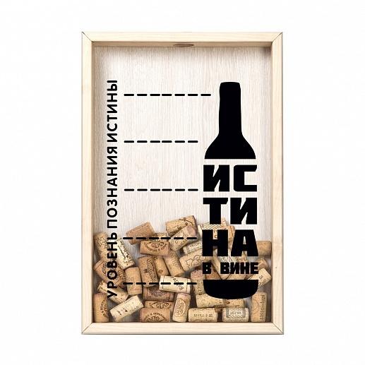 рамка-копилка для винных пробок