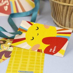 бирка для упаковки подарков купить в магазине подарков