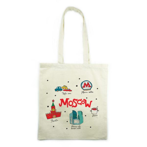холщовая эко-сумка шоппер москва