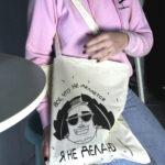 холщовая эко-сумка шоппер купить в москве