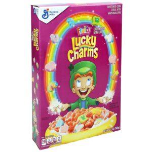 хлопья Lucky Charms купить в москве хлопья лаки чармс