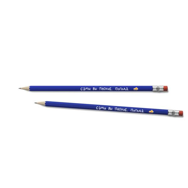 прикольные карандаши с надписью купить