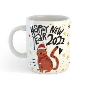 кружка с прикольной надписью на новый год