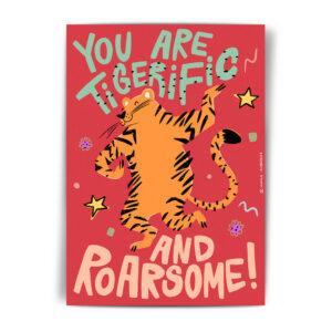 открытка с прикольной надписью на новый год